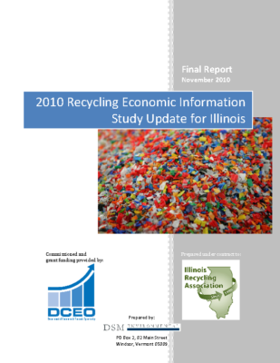 2010 Recycling Economic Information Study Update for Illinois Report