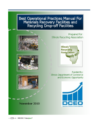Best Operational Practices Manual for Materials Recovery Facilities and Recycling Drop-Off Facilities November 2010