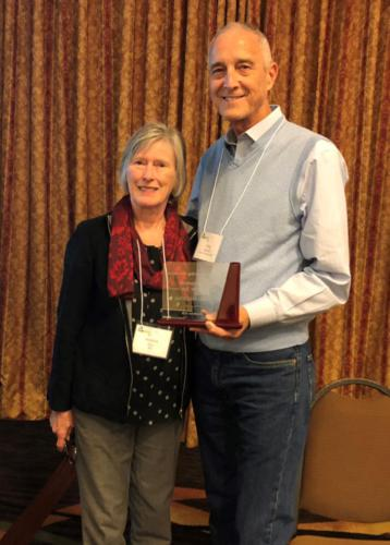 Greg Maxwell, RMC2018 Recycler of the Year